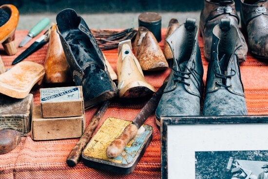 How to Disinfect Shoes From The Thrift Store_ - old shoes
