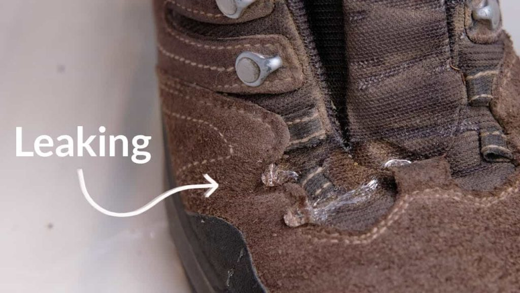How Do I Fix My Leaking Boots 2